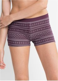 Gemusterte Damen Boxer (4er-Pack), bpc bonprix collection