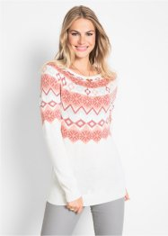 Pullover mit Muster, bpc bonprix collection