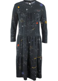 Kleid mit Volants, 3/4-Arm - designt von Maite Kelly, bpc bonprix collection