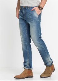 Stretch-Jeans Regular Fit Tapered im Chinostyle, John Baner JEANSWEAR