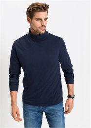 Langarmshirt mit Rollkragen Regular Fit, bpc bonprix collection