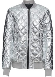 Bomberjacke im Metallic-Look, BODYFLIRT