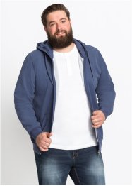 Piqué-Sweatjacke mit Kapuze Regular Fit, bpc bonprix collection