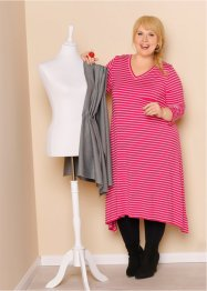 Shirtkleid mit Zipfelsaum, 3/4-Arm - designt von Maite Kelly, bpc bonprix collection