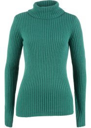 Rollkragenpullover in Rippstruktur, bpc bonprix collection