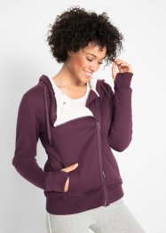 Langärmlige Teddyfleece-Jacke, bpc bonprix collection