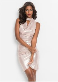 Metallic Shirtkleid, BODYFLIRT boutique
