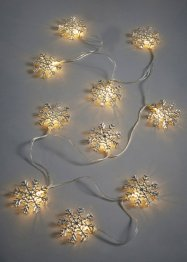 "LED Lichterkette ""Schneeflocke"", bpc living"
