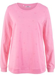 Bedrucktes Baumwoll-Langarmshirt, bpc bonprix collection