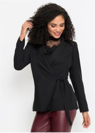 Blazer in Wickeloptik, BODYFLIRT