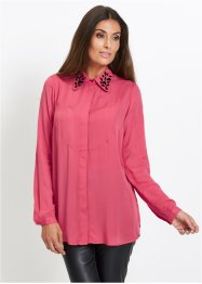 Premium Long-Bluse mit Glitzersteinen, bpc selection premium