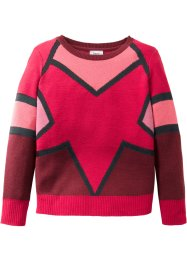 Strickpullover, gemustert, bpc bonprix collection