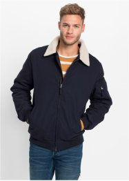 Blouson mit Teddyfell-Kragen Regular Fit, RAINBOW