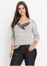 Pullover mit Applikation, BODYFLIRT