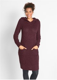 Strickkleid mit Kapuze, bpc bonprix collection