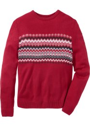 Pullover mit grafischem Muster Regular Fit, bpc bonprix collection