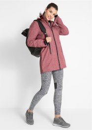 Funktions-Outdoor-Longjacke mit Teddyfleece, bpc bonprix collection