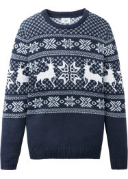 Strickpullover mit Norwegermuster, bpc bonprix collection