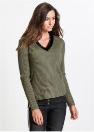 Pullover mit Fellimitatkragen, bpc selection