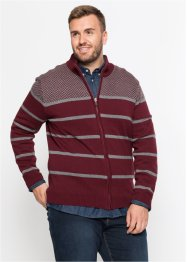 Strickjacke gestreift Regular Fit, bpc selection