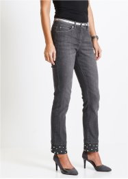 7/8-Jeans mit Perlen, bpc selection