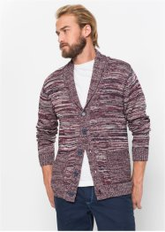 Melierte Strickjacke m. Schalkragen Regular Fit, bpc bonprix collection