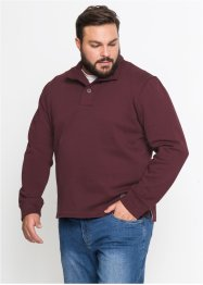 Troyer-Sweatshirt m. Knopfblende Regular Fit, bpc bonprix collection