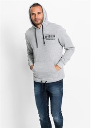 Winter-Sweatshirt mit Kapuze Slim Fit, RAINBOW