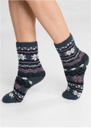 Kuschelsocken (3er Pack), bpc bonprix collection