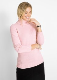 Baumwoll Rollkragenpullover, bpc bonprix collection