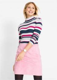 Rollkragen-Pullover, gestreift, bpc bonprix collection
