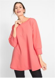 Longsweat-Shirt mit Querrippstruktur, bpc bonprix collection