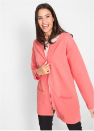 Sweatjacke mit Querrippstruktur, bpc bonprix collection