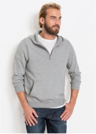 Pullover m. Kapuze mit recycelter Baumwolle, bpc bonprix collection