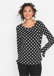 Langarmshirt mit Schleifen Detail, bpc bonprix collection