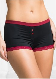 Microfaser Damen Boxer (3er Pack), bpc bonprix collection