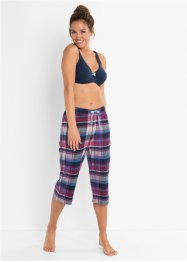Capri Pyjama Hose (2er-Pack), bpc bonprix collection