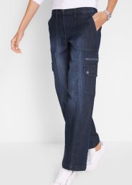 Komfortable Cargo-Jeans mit weitem Bein, bpc bonprix collection