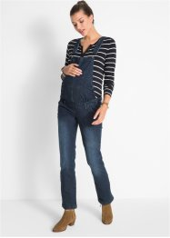 Umstands-Latzjeans, gerades Bein, bpc bonprix collection