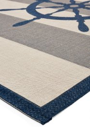 In- und Outdoor Teppich mit Steuerrad Motiv, bpc living bonprix collection