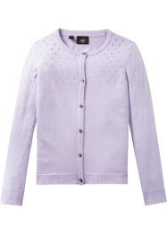Strickjacke mit Ajourmuster, bpc bonprix collection