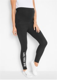 Umstandsleggings, mit Druck, bpc bonprix collection