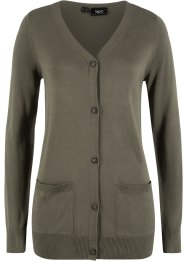 Lockere Strickjacke aus weicher Viskose, bpc bonprix collection
