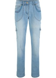 Cargo-Stretchjeans, mit Komfortbund, bpc bonprix collection