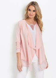 Shirtjacke mit Chiffon, bpc selection