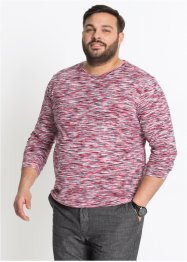 Langarmshirt meliert, bpc bonprix collection