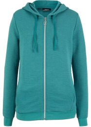 Sweatjacke mit Struktur, bpc bonprix collection