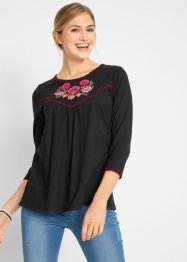 Baumwollshirt mit 3/4 Arm - designt von Maite Kelly, bpc bonprix collection
