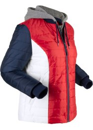 Bequeme Funktions-Steppjacke mit Sweateinsätzen, 2in1-Optik, bpc bonprix collection