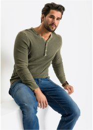 Pullover in ausgewaschener Optik Regular Fit, John Baner JEANSWEAR